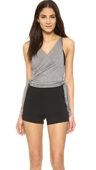 bodysuit grey underwear