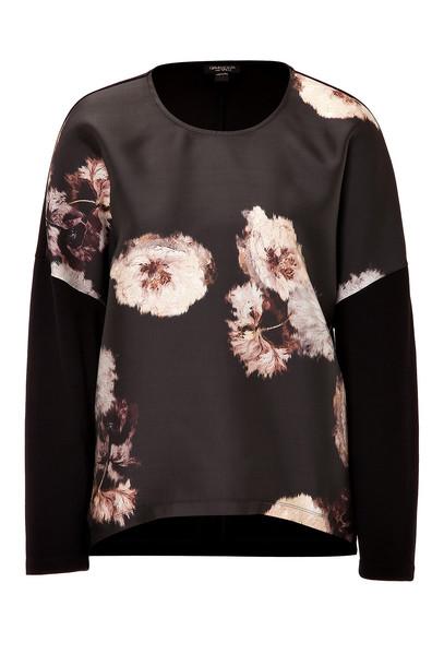 GIAMBATTISTA VALLI top floral print silk