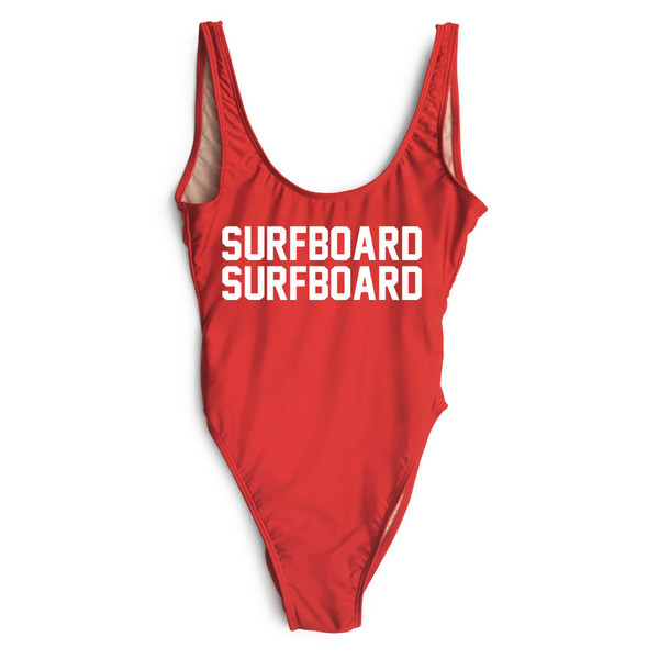 swimwear one piece swimsuit surf red swimwear