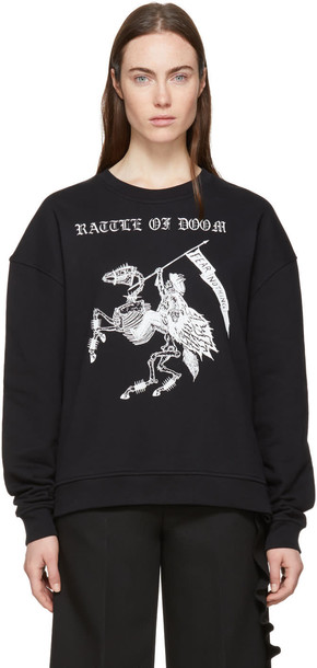 McQ Alexander McQueen sweatshirt black sweater