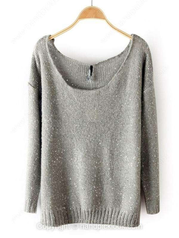 swimwear sweater grey sweater grey grey sweater round neck