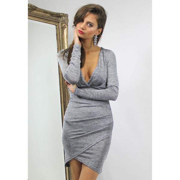 Mia Greyscale Dress by Lioness