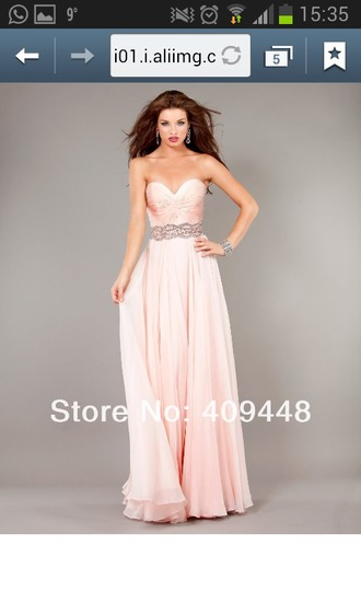dress pink rose prom gown prom dress prom goqn long long dress long prom dress