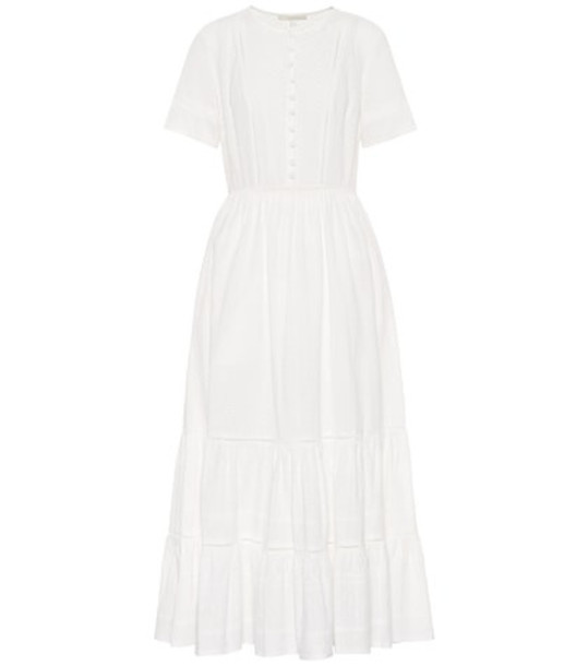 Jonathan Simkhai Broderie anglaise cotton dress in white