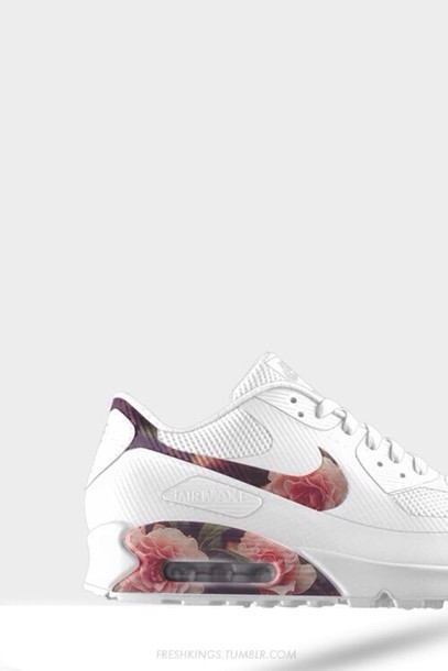 white sneakers floral floral sneakers sportswear shoes nike hyperfuse floral blanche air max nike nike air force air max air max 90 floral printed nikes nike girls the same exact shoes nike airmax floral tick floral nikes