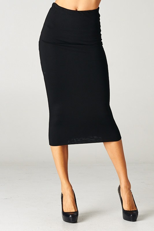 LENGTH FITTED SKIRT - MS. CEO