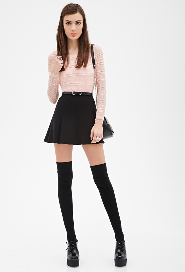 Sexy Womens Lady Girls Fashion Opaque Knit Over Knee Thigh  : d0g286 l from wheretoget.it size 600 x 881 jpeg 47kB