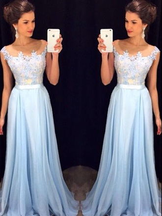 dress prom blue long lace faire hair hairupdo cinderella dresses beautiful shoes