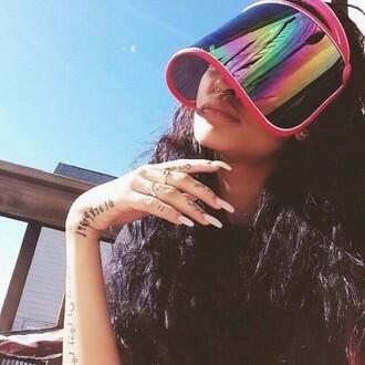 sunglasses visor accessory shades