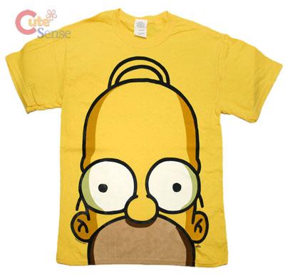 Shirts : big face yellow :s at cutesense.com
