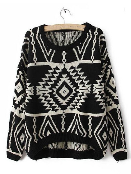 Tribal Shelle Sweater | Outfit Made