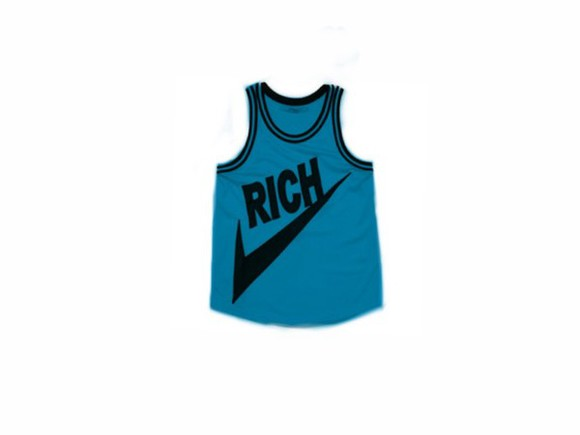 jersey dope dress blue basketball rich joyrich cute t-shirt