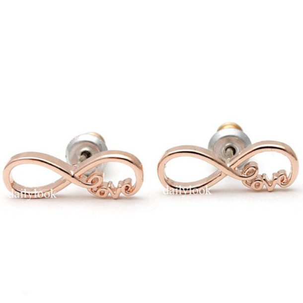 jewels infinity studs studs earrings