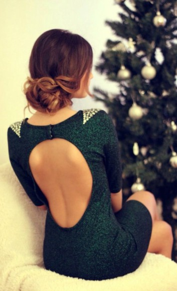 backless green