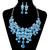Aliexpress.com : Buy S0126  Fashion  2014 New Austrian Crystal Bridal Jewelry Sets Elegant Neckalces &Pendants Dangle Earrings  For Stylish Women from Reliable earrings fairy suppliers on JIA NI JEWELRY CO,.LTD