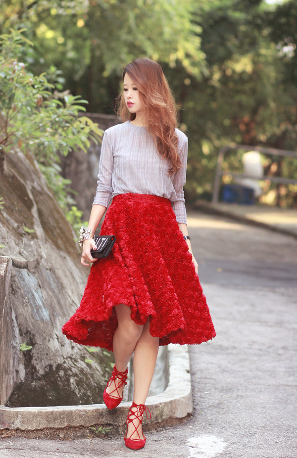 mellow mayo blogger top jewels bag