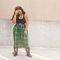 90s vintage clueless plaid skirt