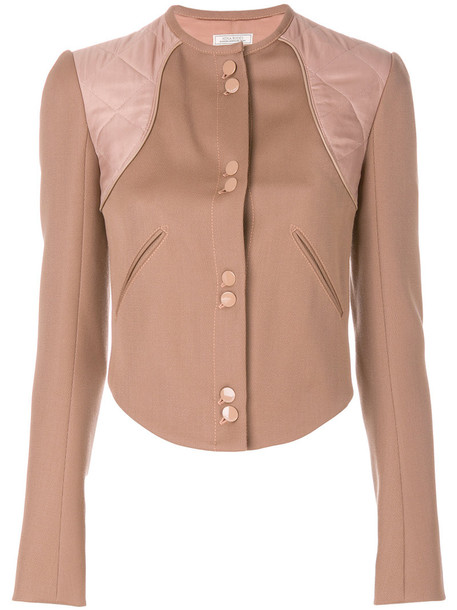 jacket women nude cotton
