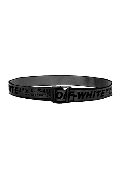 OFF-WHITE Industrial Belt in black