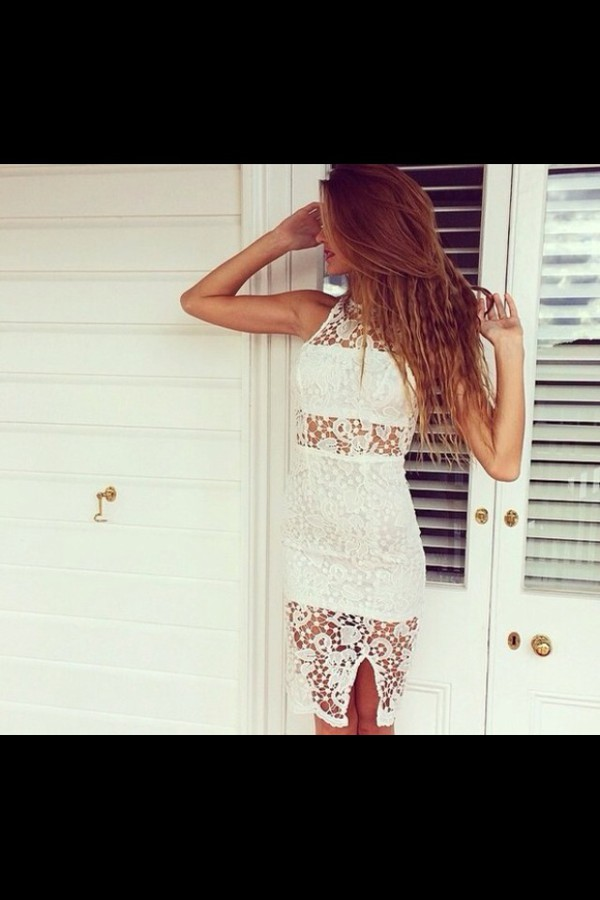 dress white dress summer dress summer short party dresses