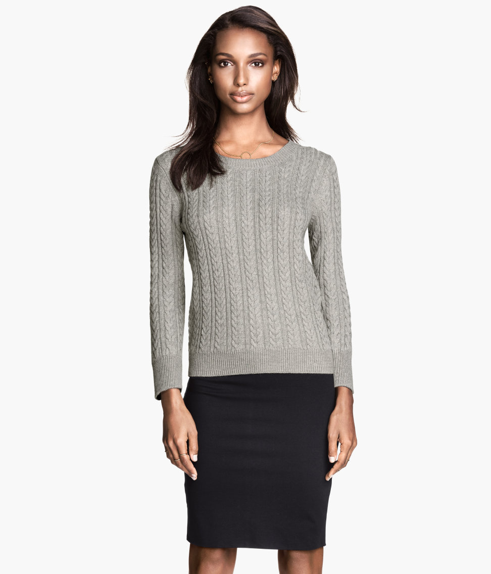 H&M Cable-knit Sweater $19.95