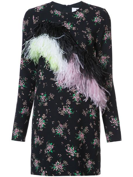 MSGM dress women floral print black