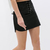 Black PU Pencil Skirt With Tie