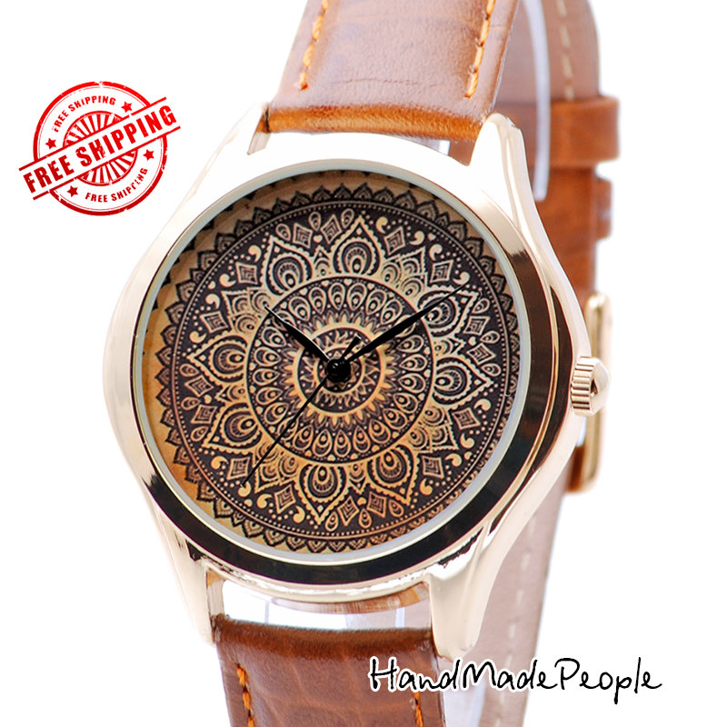 Pattern Ladies Watch, Ethnic Style Watches for Women, Gift for ...