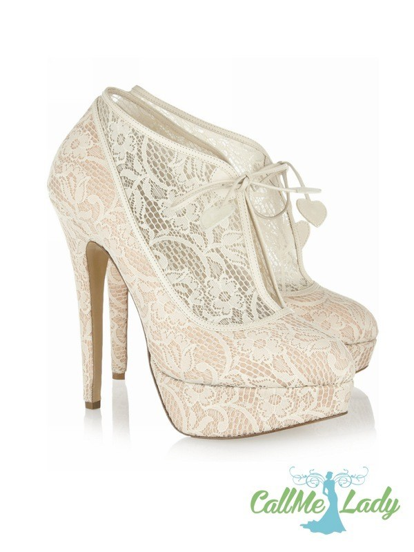 CallMeLady lace high heels - CallMeLady