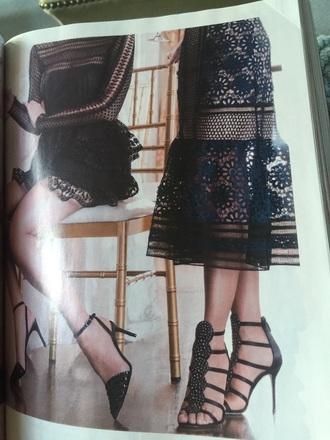 dress lace dress navy dress see through dress