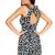 Conversational Print Dress