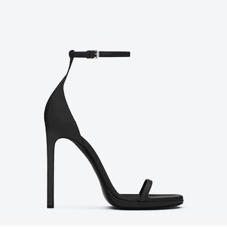 shoes black style black high heels high heels black heels