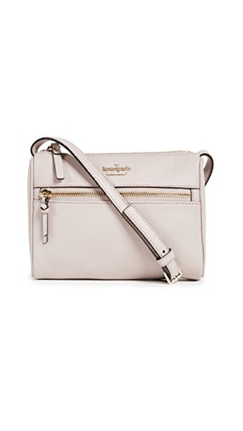 Kate Spade New York cross mini street bag grey