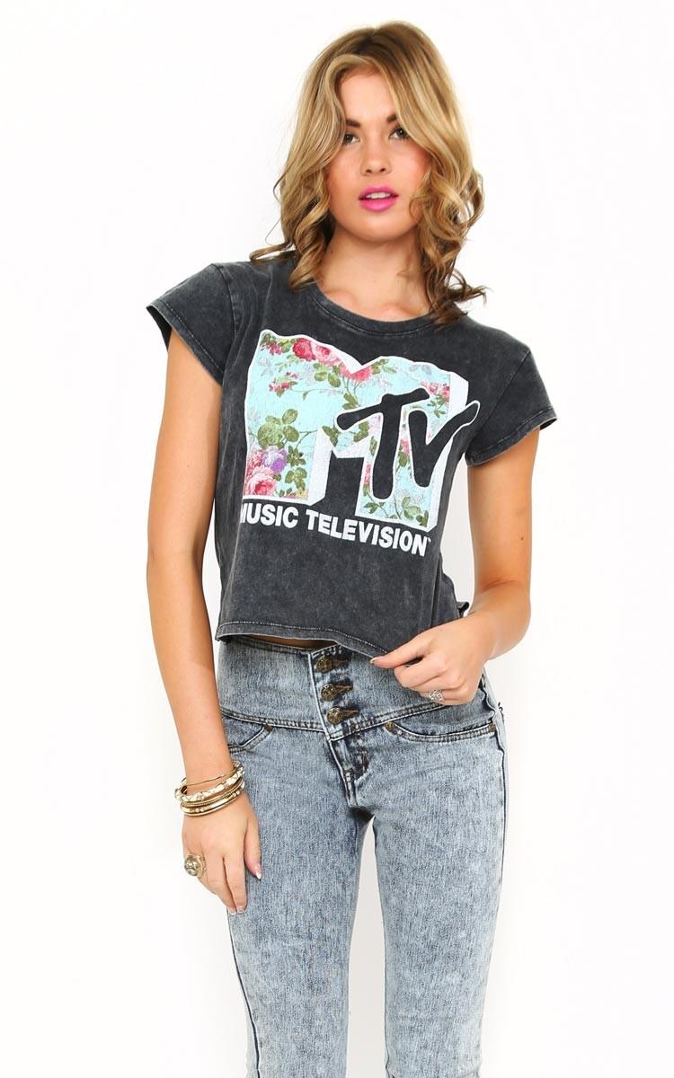 MTV Mineral Crop Top