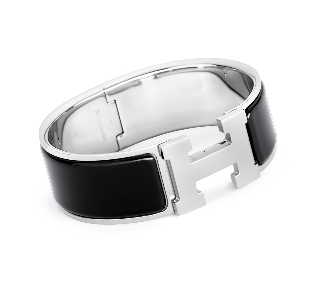 Enamel Jewelry Hermès Black - H Bracelets - Jewelry & Watches | Hermès, Official Website