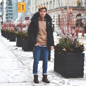 alexander liang,blogger,winter outfits,mens coat,menswear,coat,sweater,shirt,jeans,shoes,mens parka,mens boots