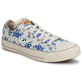 Low top trainers converse all star floral print ox liberty [94429]