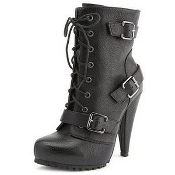 Shoes: combat, heel, combatboots, combatheels, heels, high heels ...