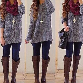 cardigan winter outfits outfit boots shoes sweater winter coat tumblr sweater