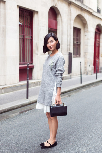 blogger bag gary pepper vintage sweater dress