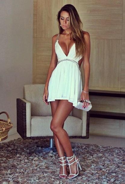 dress blue dress grecian dress
