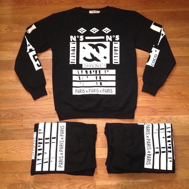 Paris n5 sweater