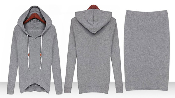 skirt sweats lounge grey heather sweatshirt