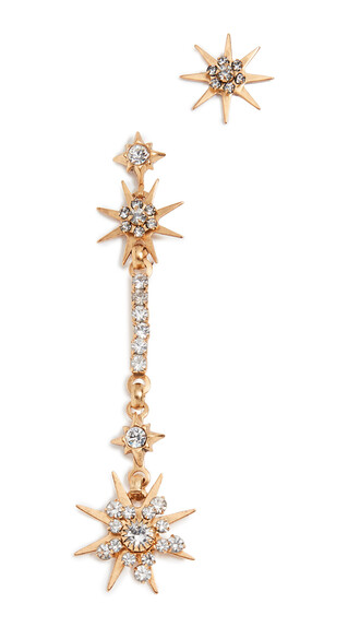 earrings celestial gold jewels