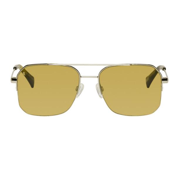 RAEN Silver & Brown Munroe Sunglasses