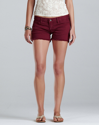 Riley Colorful Denim Shorts - New Arrivals - Lucky Brand Jeans