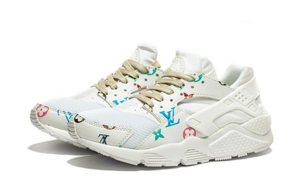 separation shoes d767a 77b3f shoes louis vuitton print vanilla nike shoes nike nike sneakers nike air  nike air huaraches nike