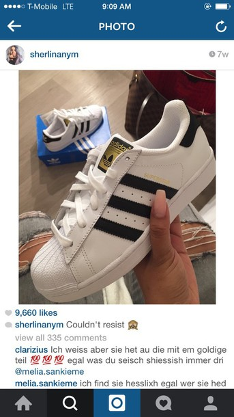 shoes adidas shoes white and black shoes gold shoes black  white