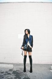 neon blush,jacket,blouse,shorts,shoes
