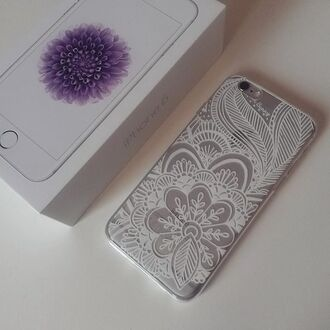 phone cover yeah bunny iphone iphone case henna henna case transparent transparent case gift ideas